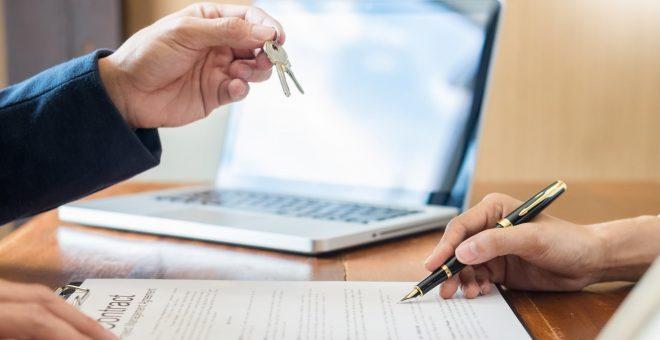 köpa bostad skriva kontrakt göteborg nycklar